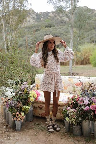 The Dahlia Sweatshirt Dress