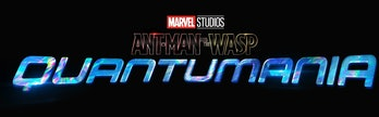 Ant-Man and the Wasp: Quantumania movie logo