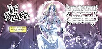 Dazzler in the Marvel comics