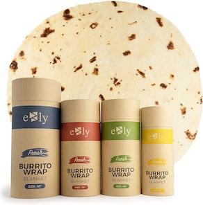 "EZLY Burrito Tortilla Taco Blanket (60"")"