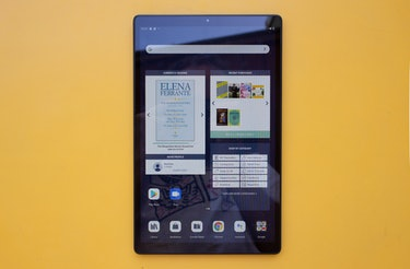 Nook 10-inch 2021 review: The Nook home screen