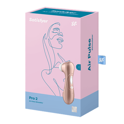 The Satisfyer Pro 2 Next Generation is an air-pulse clitoris stiumlator.