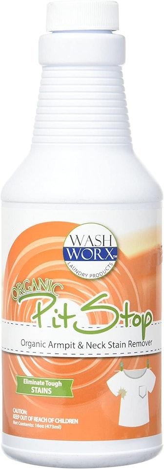 Sanco Industries Organic Pit Stop Sweat Stain & Deodorant Remover, 16.08 fl. oz.