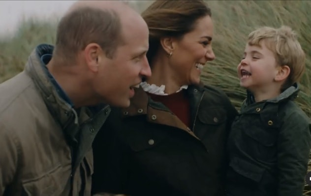 Prince Louis can always make his parents laugh.