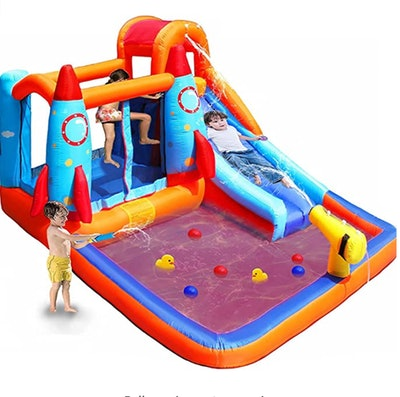 Meiouka Kid Inflatable Bounce House Castle