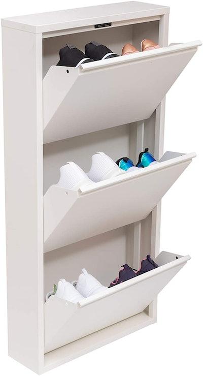 Mabel Home Modern Shoe Cabinet