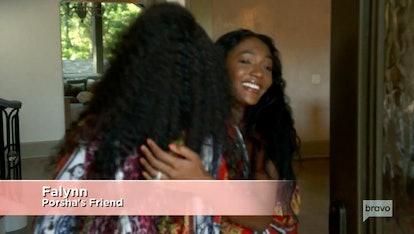 Falynn Guobadia's introduction as Porsha's friend in 'The Real Housewives of Atlanta' Season 13