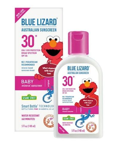 Blue Lizard Baby Sunscreen Lotion, SPF 30+