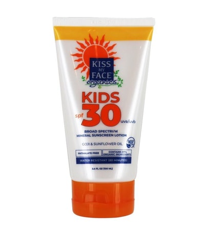 Kiss My Face Organics Kids Defense Sunscreen Lotion, SPF 30
