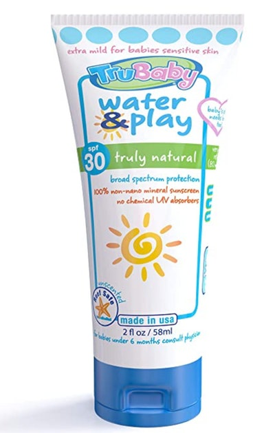 TruBaby Water & Play Mineral Sunscreen Lotion, SPF 30+
