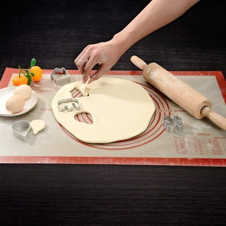 Folksy Super Kitchen Silicone Pastry Baking Mat With Measurements