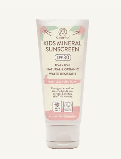 Suntribe Kids Mineral Sunscreen Lotion, Vanilla Yum Yum, SPF 30