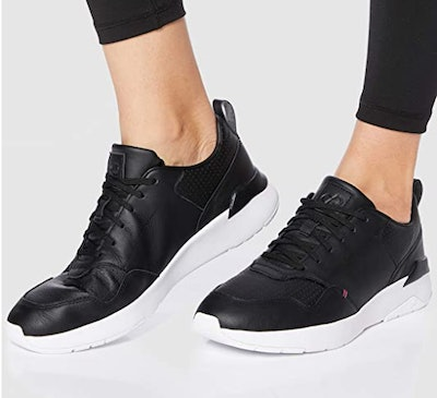 CARE OF By PUMA Low-Top Leather Sneakers