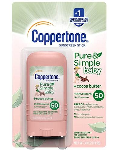Coppertone Sunscreen Pure & Simple Baby Sunscreen Stick