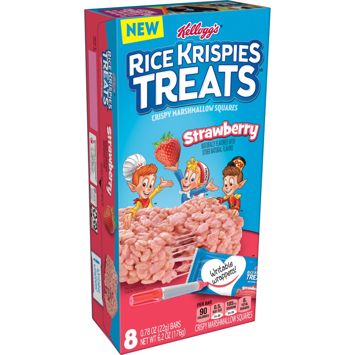You can buy Strawberry Rice Krispies Treats when they launch in late May 2021.