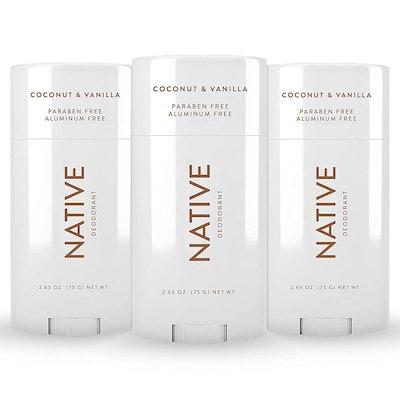Native Deodorant (3-Pack, 2.65 Oz)