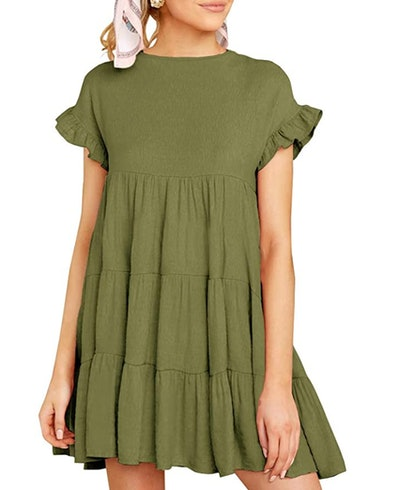 Imysty Babydoll Mini Dress