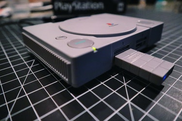 PlayStation Classic review: Project Eris hack with 8bitdo wireless adapter for connecting PS4 DualShock 4