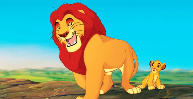 'The Lion King' is about a young lion, looking to take the place of his father.