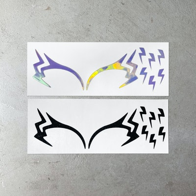 Eye-Lectric Face Decals