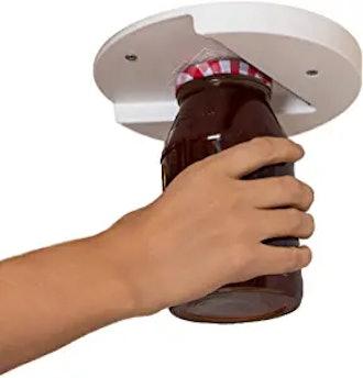 The Grip Jar Opener: The Original Under Cabinet Lid Opener