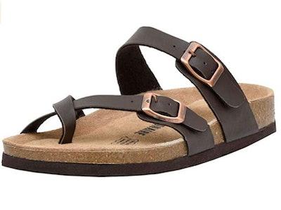 CUSHIONAIRE Luna Sandal
