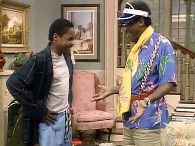 The Cosby Show, 'Father's Day', season one, episode 13.