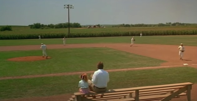 Kevin Costner stars in the 1989 film, 'Field of Dreams.'