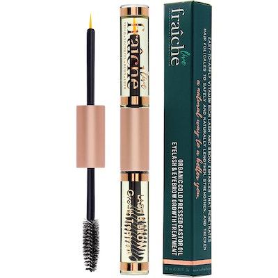 Live Fraiche USDA Organic Castor Oil for Eyelashes and Eyebrows