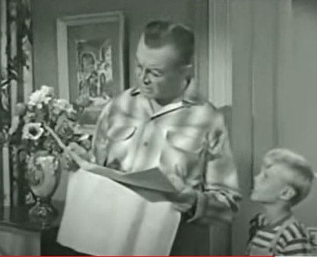 """Dennis The Menace: """"Father's Day For Mr. Wilson"""""""