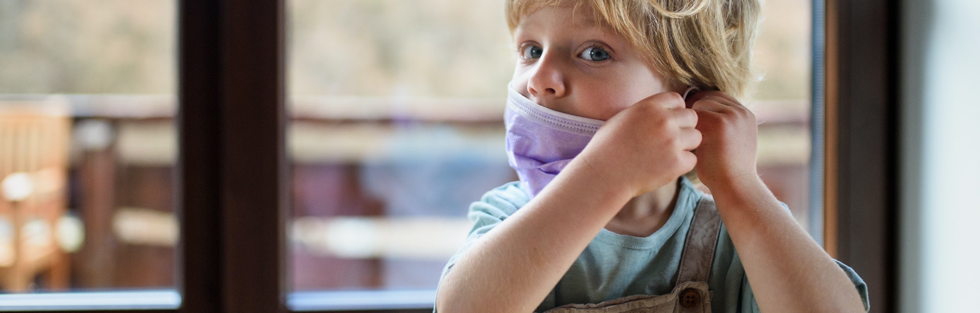 Experts weigh in on how often children should be wearing masks around vaccinated adults.
