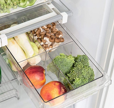 Shopwithgreen Refrigerator Pull-Out Drawer Organizers (2-Pack)