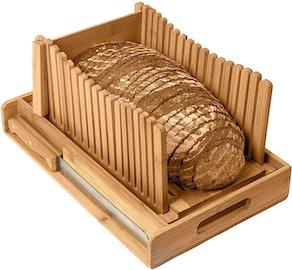 Kitchen Seven Bamboo Bread Slicer