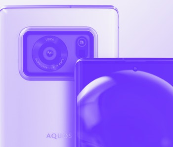 Sharp Aquos R6 smartphone