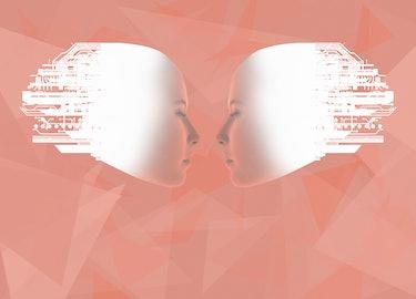 Two minds illustration