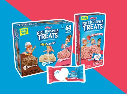 You can buy Strawberry Rice Krispies Treats at most retailers this summer.