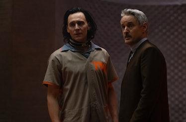 Owen Wilson and Tom Hiddleston in Disney+'s Loki
