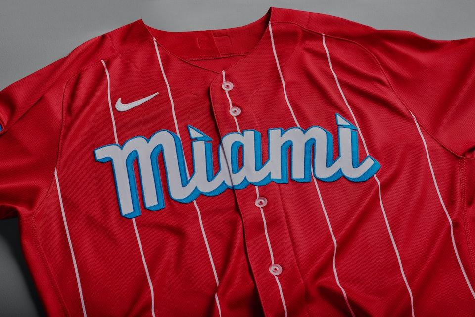 Miami Marlins Nike Connect Jersey Cuban Sugar Kings