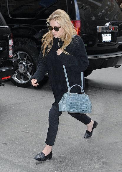 Ashley Olsen as seen on April 22, 2013 in New York City.