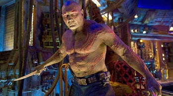 Drax the Destroyer in Marvel's Guardians of the Galaxy films