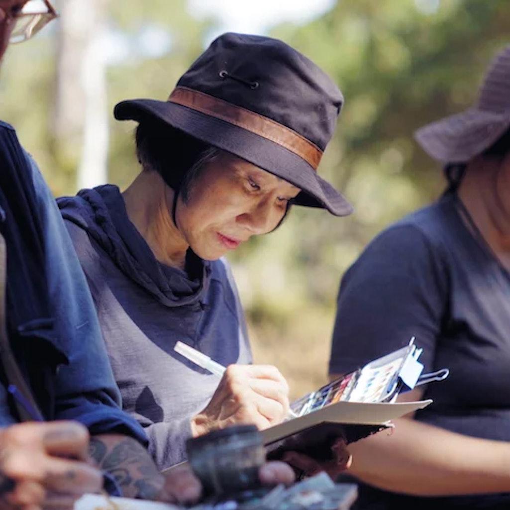 Amy Tan in her self-titled documentary, 'Unintended Memoir.'