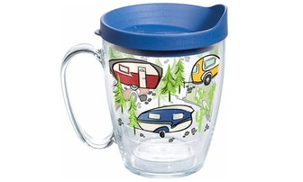 Tervis Retro Camping Insulated Tumbler, 16 oz.