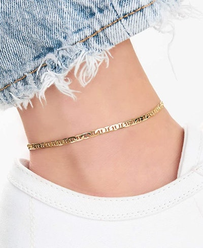 Barzel Store Gold Anklet