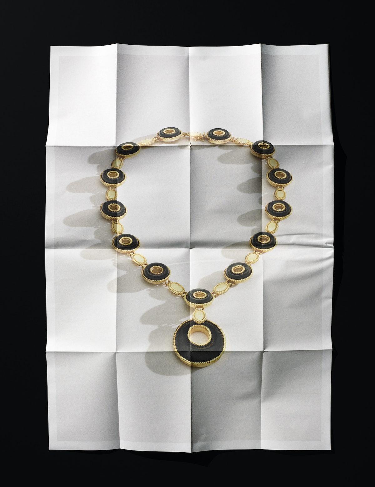 Van Cleef & Arpels necklace.
