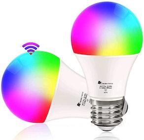 CT CAPETRONIX Smart Light Bulbs (2-Pack)
