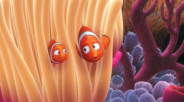 'Finding Nemo' is about a determined fish dad who must find his son.