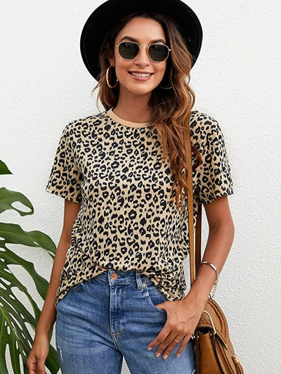 BMJL Leopard Print T-Shirt