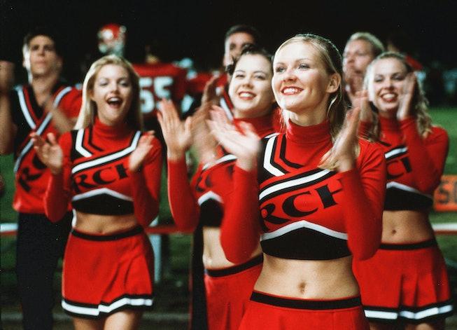 Kirsten Dunst in the original 'Bring It On' in 2000.
