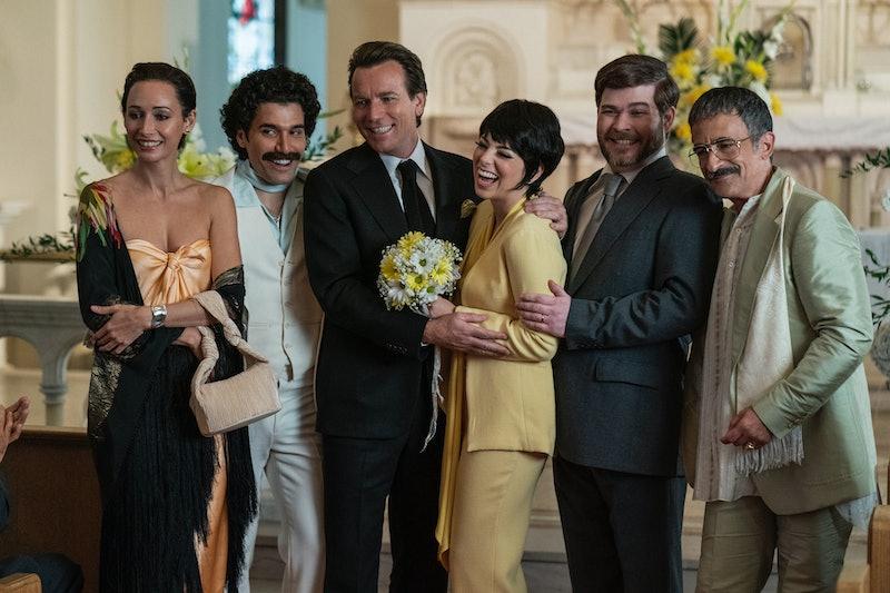 Ewan McGregor as Halston and Krysta Rodriguez as Liza Minnelli in Netflix's 'Halston.'