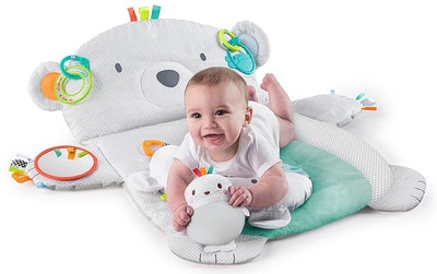 Bright Starts Tummy Time Prop & Play Activity Mat